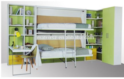 2_Murphy_Folding_Bunk_Bed_Open
