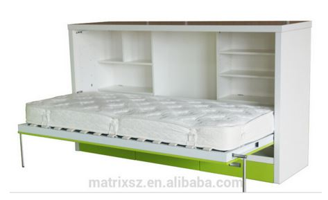 Horizontal Single Bed